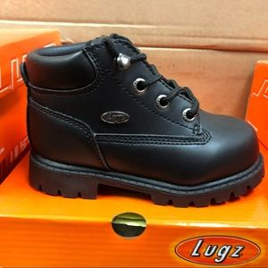 Lugz boots all black for toddler